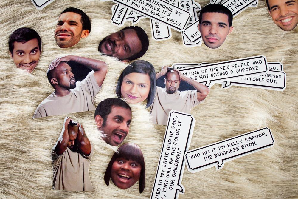 Sassy Celeb Stickers