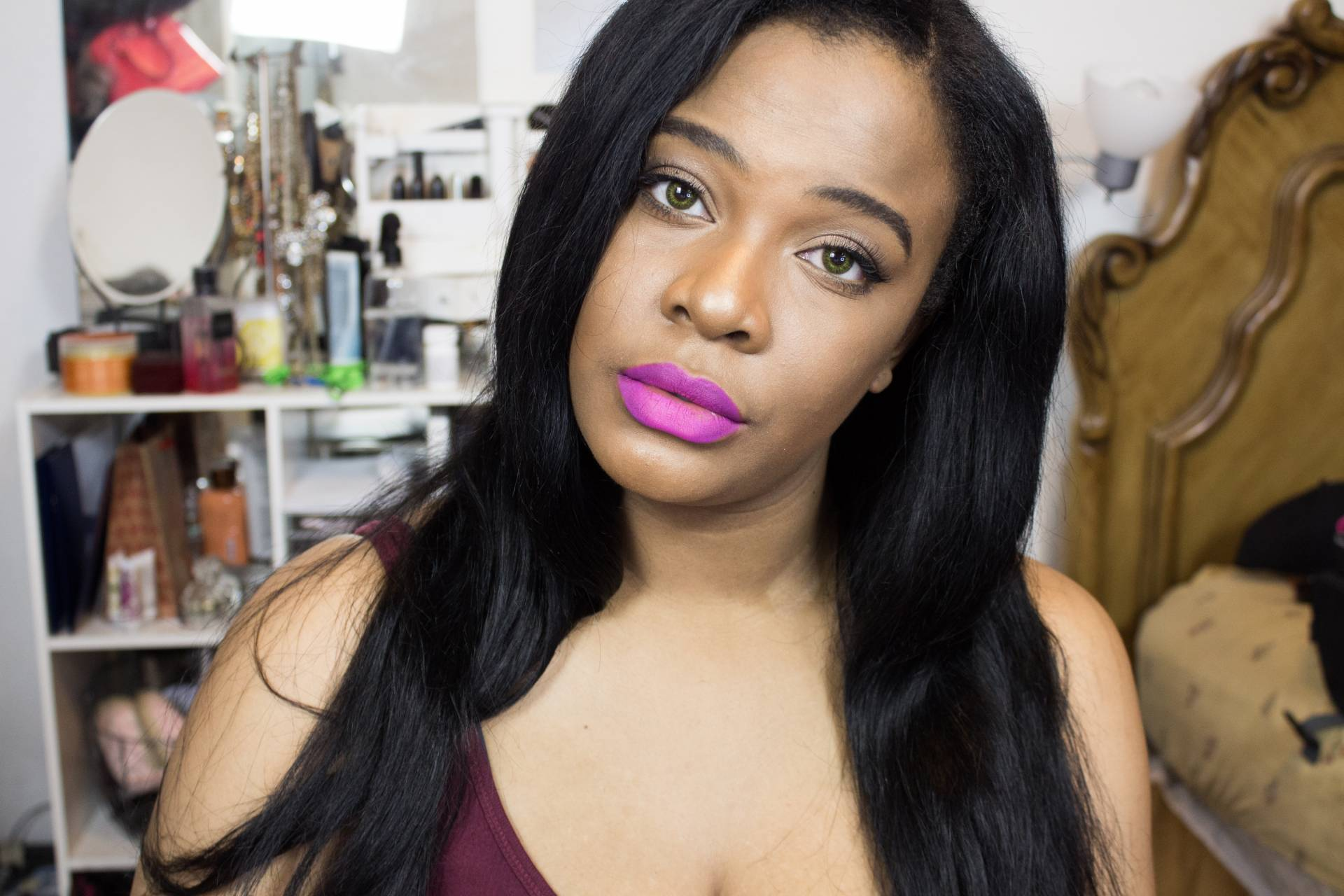 spring pink lip for WOC