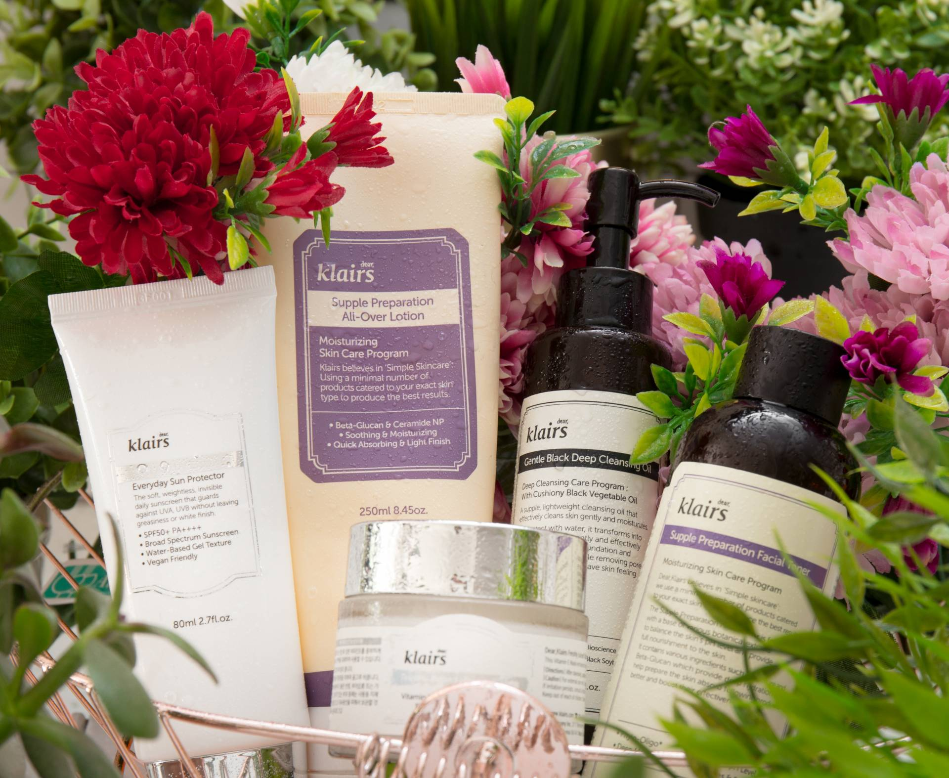 dear klairs skincare must haves best sellers vegan friendly korean skincare
