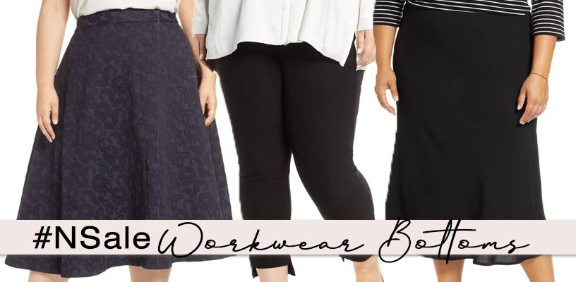 nordstrom anniversary sale 2019 plus size bottoms and skirts