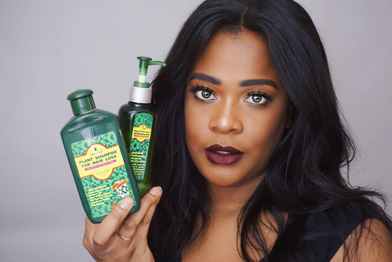 Deity America Natural Hair Video Review for Transitioning Hair