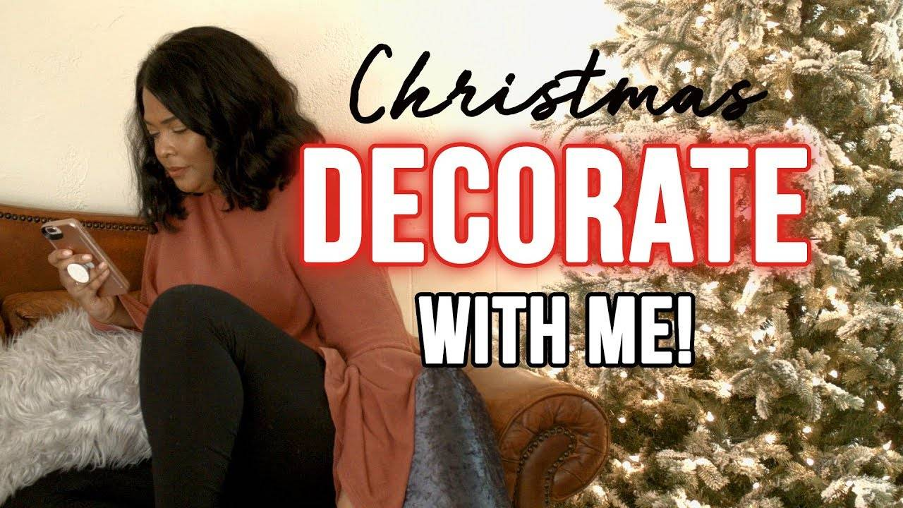 Christmas Decorate the tree with me video